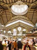 Valencia's Modernista Covered Market  La Seu and El Mercat  Valencia  Spain