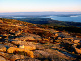 Cadillac Mountain Summit  Early Morning  Acadia National Park  Maine