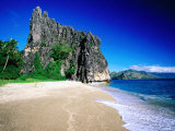Rock Formation on Beach  New Caledonia  North Province  New Caledonia