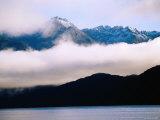 Lake Manapouri and Mountains  Manapouri  New Zealand