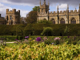 The Landscaped Gardens of Sudeley Castle  Winchcombe  Gloucestershire  England