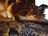 Painted Cliffs  Maria Island National Park  Maria Island  Tasmania  Australia
