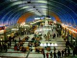 Interior of Stockholm Central Train Station  Stockholm  Sweden