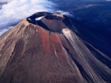 Mt Ngauruhoe Crater  Tongariro National Park  New Zealand