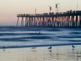 Pier at Sunset  Pismo Beach  California