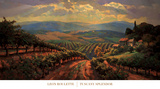 Tuscany Splendor Reproduction d'art par Leon Roulette