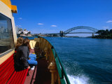 Manly Ferry Returning to the City  Sydney  New South Wales  Australia