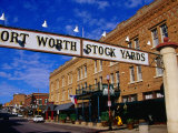 Stockyards District  Fort Worth  Texas