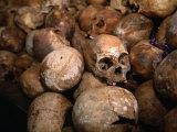 Genocide Memorial  Gisozi  Kigali  Rwanda