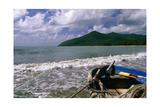 Fishing Boat on Maunabo Beach  Puerto Rico