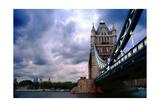 Towering Tower Bridge  London  UK