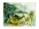 Watercolor Roe Deer 2