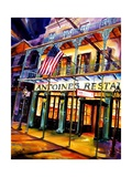 Antoines Restaurant in the French Quarter