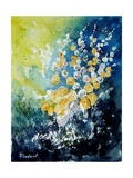 Watercolor John's Flowers