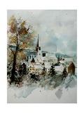 Watercolor Houyet