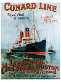 Cunard Line  Liverpool to New York