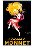 Cognac Monnet Giclée par Leonetto Cappiello