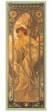 Reverie du Soir Giclée par Alphonse Mucha