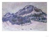 Mount Kolsaas in Norway  c1895