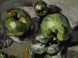 Green Apples  c1873