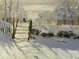 The Magpie, c.1869 Giclée premium par Claude Monet
