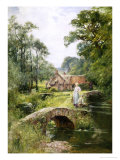 Fishing by the Bridge