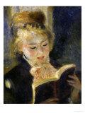 Girl Reading  c1874