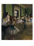 The Dance Class  c1875