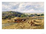 View of Lambourn  Berkshire