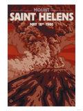 Mount St Helens Eruption  Washington  May 18  1980
