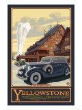 Old Faithful Inn  Yellowstone National Park  Wyoming