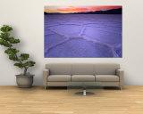 Salt Flats at Twilight  Death Valley National Park  USA