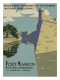 Fort Marion National Monument  St Augustine  Florida  c1938