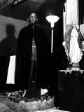 Pastor of the St Martin's Spiritual Church  Flower Bowl Demonstration  Washington DC  c1942