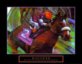 Success: Horse Race Jockey