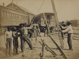 Military Railroad Operations in Northern Virginia  c1862