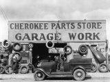 Auto Parts Shop  Atlanta  Georgia  c1936