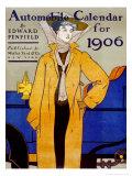 Cover for Automobile Calendar of 1906