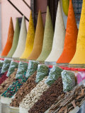 Place Des Ferblatiers  Mountains of Moroccan Spices Souk  Marrakech  Morocco