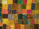 Colorful Carpet  Pushkar  Rajasthan  India