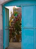 Doorway in Small Village  Cappadoccia  Turkey