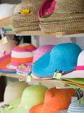Hats for Sale  Kokkari  Samos  Aegean Islands  Greece
