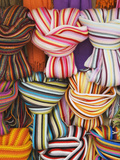 Colorful Scarfs for Sale at Market  Pisa  Italy