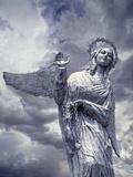 Virgin of Quito Statue on Panecillo Hill Overlooking Quito  Ecuador