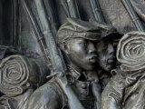 Black Soldiers of the 54th Massachusetts Regiment  Memorial in Boston  Massachusetts