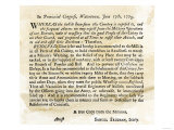 Notice to the Militia to Be Ready to Act at a Minute's Warning  Massachusetts  June 17  1775