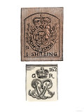 Stamp Act Stamps Issued by the British Government Before the American Revolution