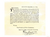 Letter from Boston's Committee of Correspondence Urging Supplies Be Withheld from British  c1774