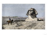 Napoleon and the Sphinx at the Time of the French Invasion of Egypt  c1798