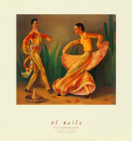 El Baile Reproduction d'art par Paul Valentine Lantz